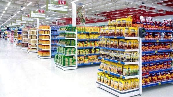 Setup siêu thị mini