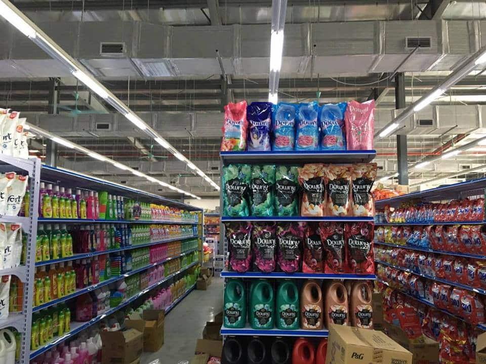 Kệ siêu thị Thái Bình