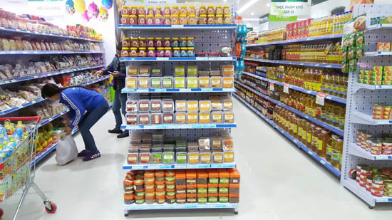 Kệ siêu thị Bắc Giang