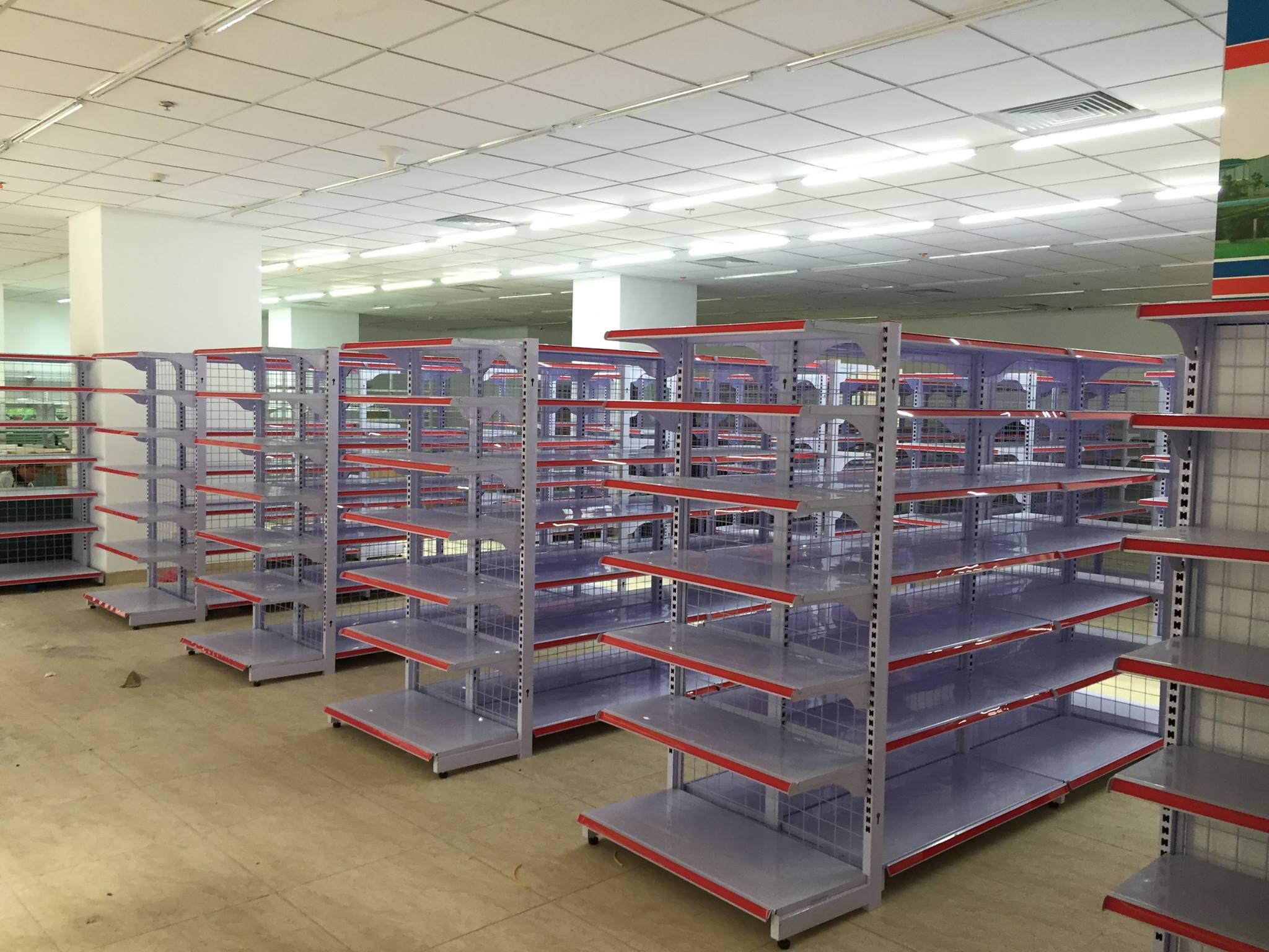 Hệ thống giá kệ siêu thị