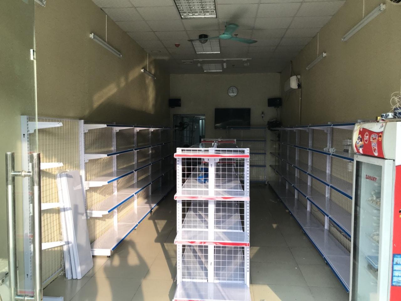 giá kệ siêu thị Đan Phượng