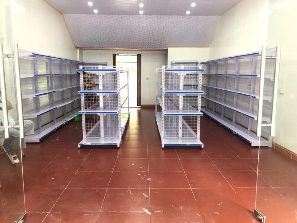 giá kệ siêu thị Vĩnh Phúc
