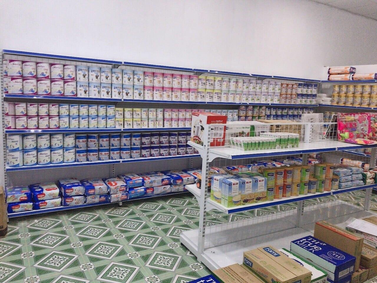 Giá kệ sữa