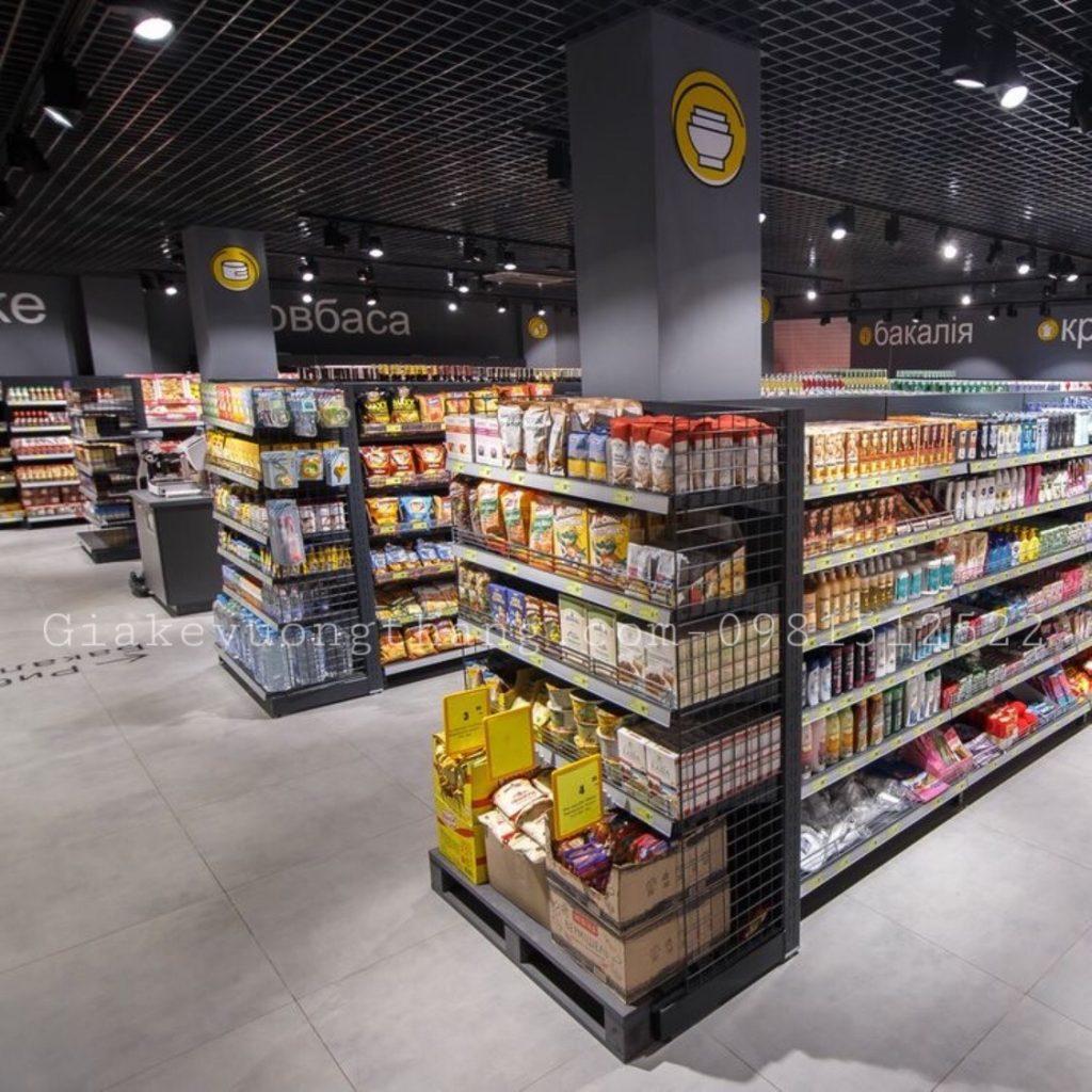 Cách chọn mua kệ siêu thị