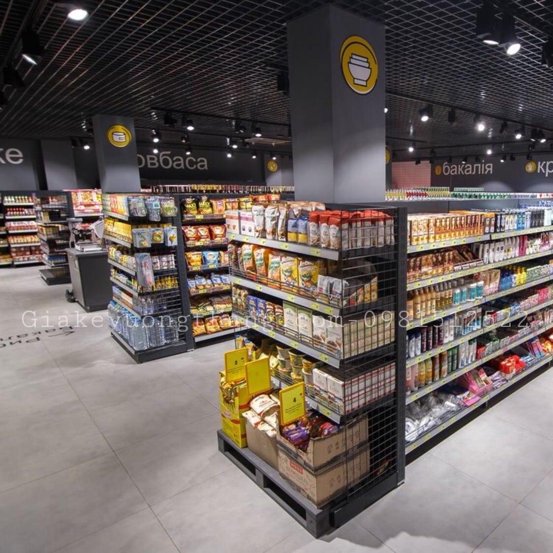 Cách chọn mua giá kệ siêu thị